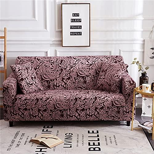 WXQY Funda de sofá, Funda de sofá de Sala de Estar Bien Envuelta, si es una Funda de sofá de Esquina combinada en Forma de L, Funda de sofá A6 de 3 plazas