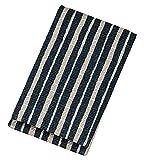 日本製 HAKOYA たつみや もてなしや ミラー付楊枝入れ 紺縞 57403