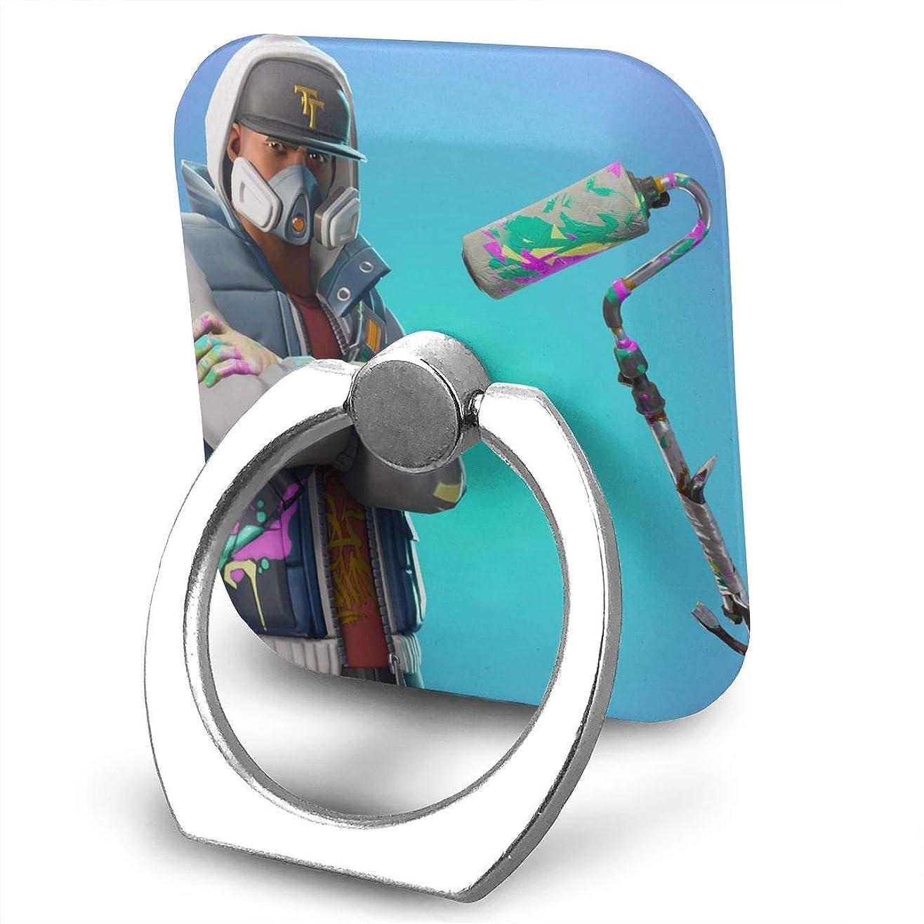配分救い新鮮なGreatayifong フォートナイト バトルロイヤル バンカーリング スマホ リング 人気 ホールドリング 薄型 スタンド機能 ホルダー 落下防止 軽い 360 回転 IPhone/Android各種他対応 (シルバー)