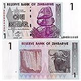 Stampbank La cifra de Billetes para coleccionistas - 1 Billete de dólar Fuera de circulación emitida por el Banco de Zimbabwe / 2007 / UNC