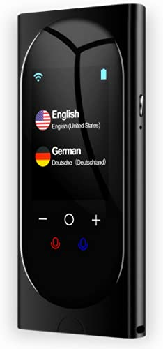 Language Translator Device Interpreter Device Two Way Voice Translator Support 106 Languages with Super Accuracy Onli...