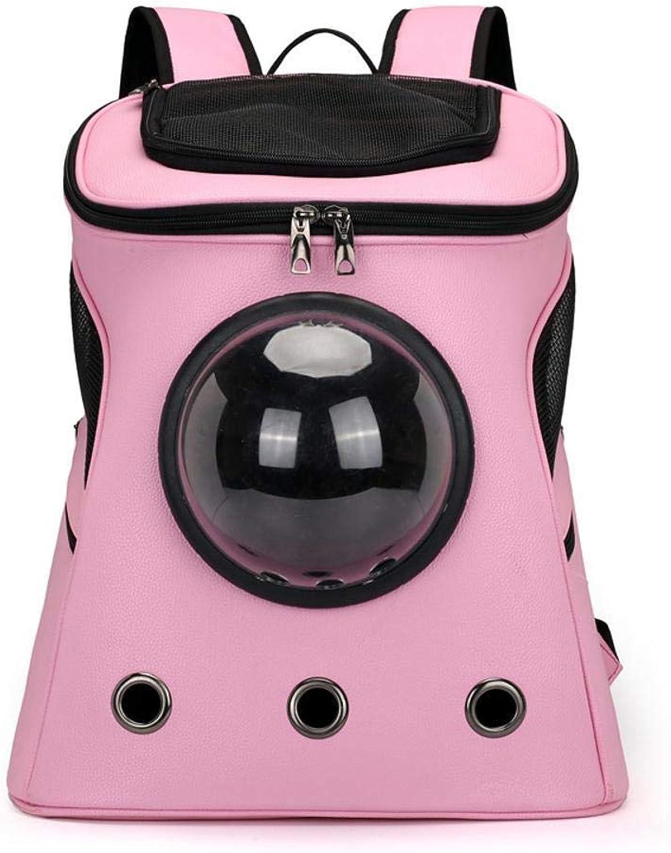 Maerye Pet Bag Capsule Backpack Breathable Outdoor Portable Backpack pet Transport Bag Suitable for 57 kg Dog, cat