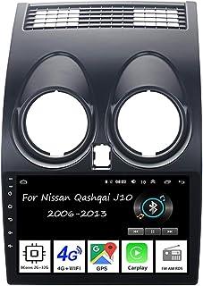 Car Multimedia navigations GPS autoradio Bluetooth Für Nissan Qashqai J10 2006 2013Auto Zubehör Einfügen und verwenden Car Video Player Steering Wheel Control,8 Cores 2G+32G