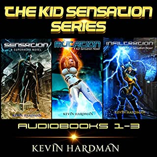 The Kid Sensation Series: Books 1-3 audiobook cover art