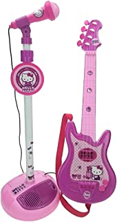 Reig Hello Kitty-Conjunto de Guitarra y micrófono (1494) (6