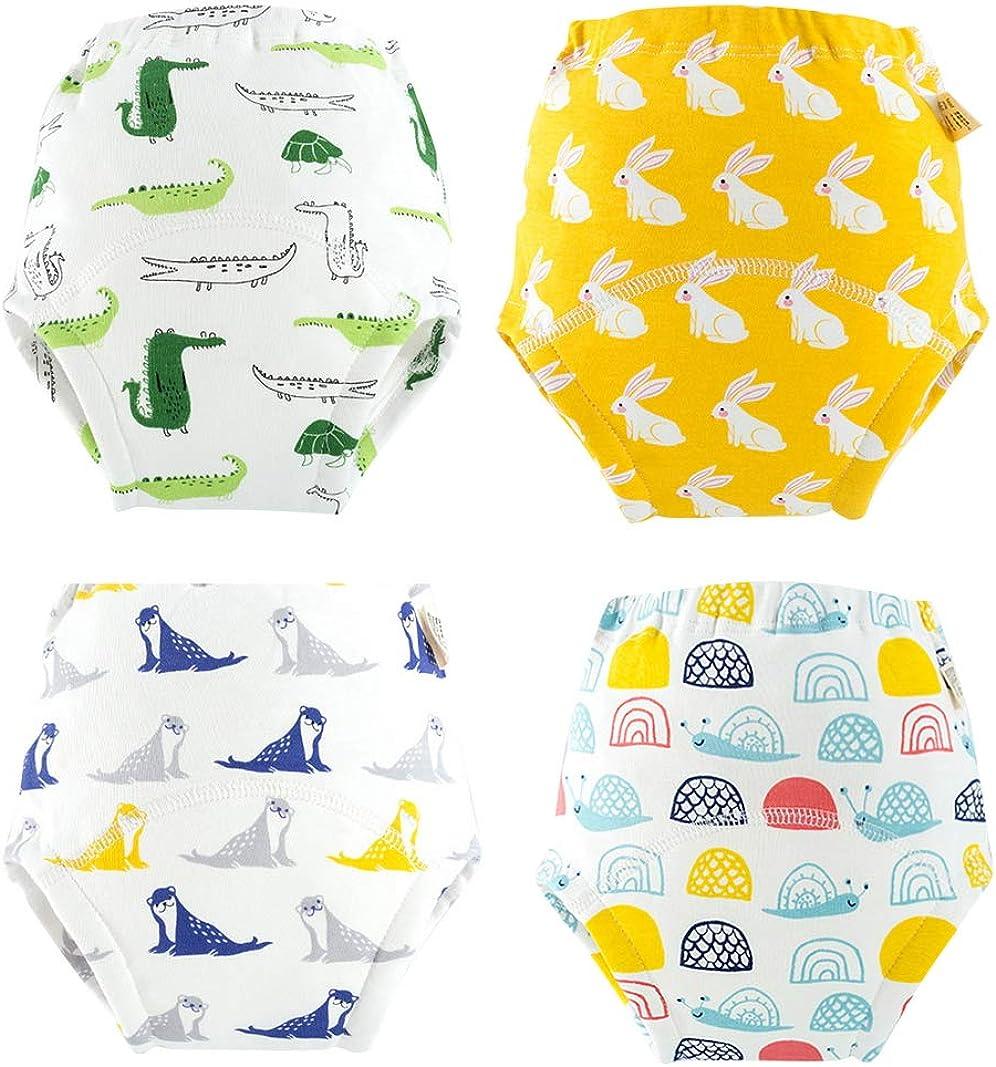 EOZY Unisex Baby T/öpfchen Trainingshose Kinder Wasserdicht Lernwindel Trainerhose