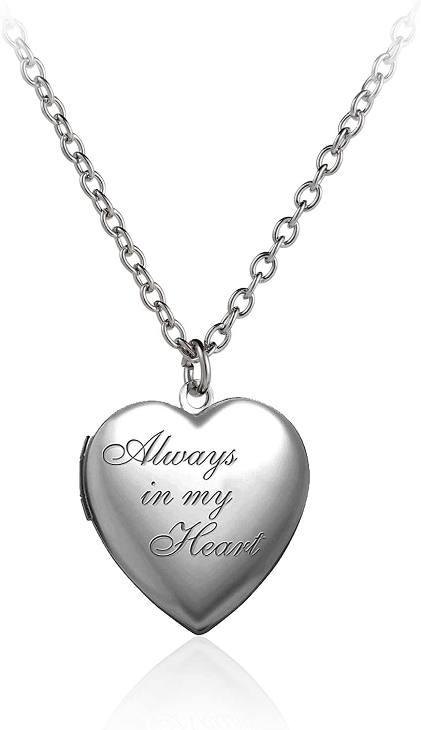 Caiyao excellence Engraved Love Heart Holds Locket N Pendant Latest item Pictures Photo