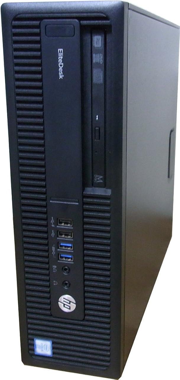 問い合わせ教育険しい中古パソコン デスクトップ HP EliteDesk 800 G2 SFF Core i5 6500 3.20GHz 4GBメモリ 500GB Sマルチ Windows10 Pro 64bit 搭載 動作保証30日間