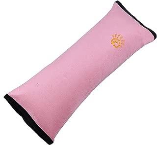 17 x 22 cm, 100/% algod/ón Minky Medi Partners color gris dise/ño de lunares Almohadilla para cintur/ón de seguridad de coche