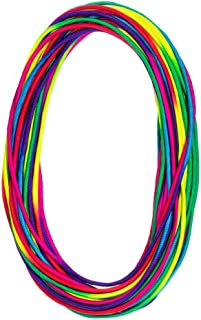 PARACORD PLANET Colorful Rainbow Cord Tie Dye Style Type III 7 Strand 550 Paracord – Available in 10,25,50, and 100 Feet