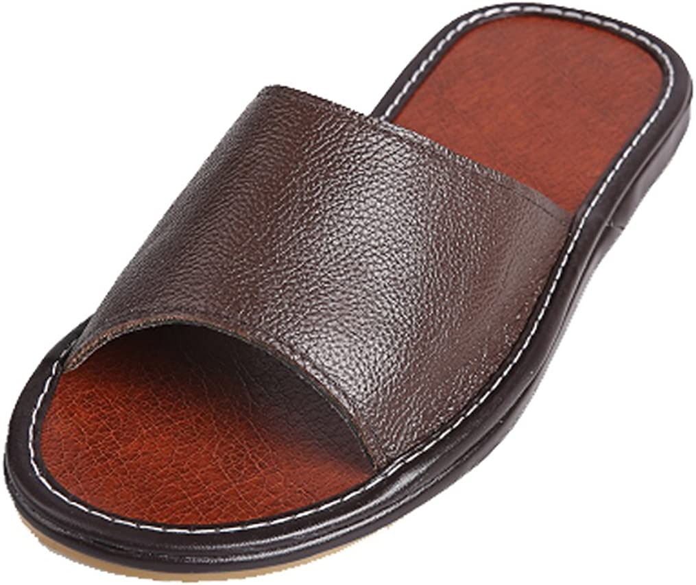 Cattior Mens Solid Summer Leather