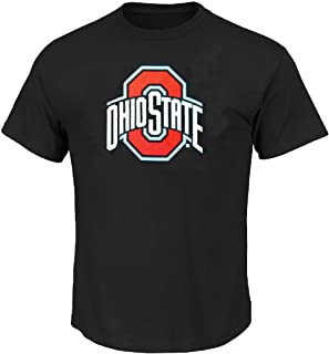 Ohio State Buckeyes College Logo Short Sleeve T Shirt by J. America
