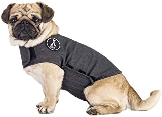 X@HE Dog Anxiety Relief Coat Comfort Keep Clam Wrap Vest Thunder Shirt for XS Small Medium Large XL Dogs,Navy Blue Gray Rose-Red Camouflage