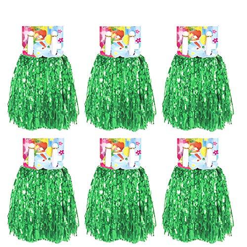 12 Stücke Cheerleading Pom Pom mit Baton Griff, Creatiees Cheerleading Pompons Cheerleader Puschel Tanzpuschel für Ball Tanzen Schick Kleid Nacht Party Sports(Grün)