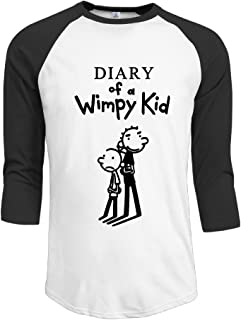 Diary of A Wimpy Kid Men Baseball Jersey T Shirt