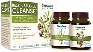 Himalaya Back to Balance Cleanse for Detox, Colon Cleanse, Relief from Occasional Bloating & Constipation, Non-GMO & Plant...