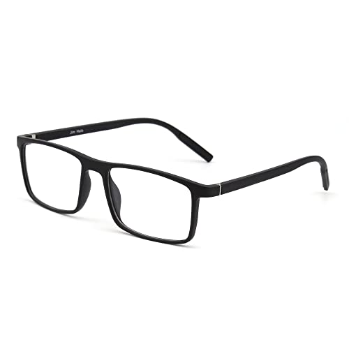 0822e20ef3ba Retro Optical TR Frame Lightweight Spring Hinge Clear Lens Glasses Men Women