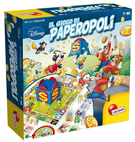 Lisciani Giochi Disney Il gioco di Paperopoli, 57078