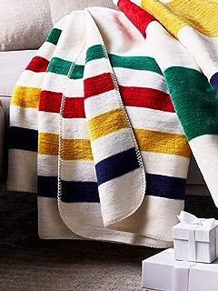 Hudson's Bay Company HBC Plush Throw Classic Stripe 70