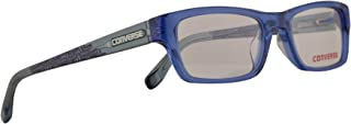 Converse All Star Kids K013 Eyeglasses 47-16-130 Blue w/Demo Clear Lens FC K 013