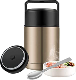 Food Thermos,27oz Wide Mouth Soup Thermos for Hot Food...