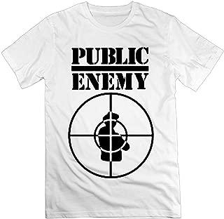 Public Enemy Print Mens Casual T-Shirts