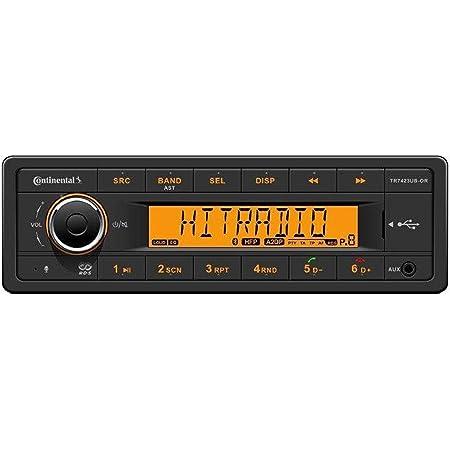 Continental Tr7423ub Or 24 Volt Mp3 Autoradio Mit Elektronik