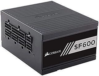 Corsair SF Series SF600 SFX 600 W Fully Modular 80 Plus Gold Power Supply Unit - Black