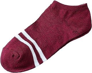Fannyfuny Medias Mujeres Hombres Calcetines de Deporte Unisex Casual Calcetines de Skate de Rayas Calcetines Cómodos Fitness Tenis Correr Uso Diario