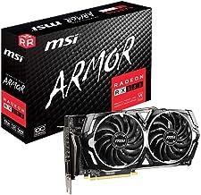 MSI Gaming Radeon Rx 580 256-bit 8GB GDRR5 HDMI/DP DirectX 12 VR Ready Dual Fan Crossfire Freesync Graphics Card (RX 580 A...
