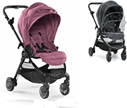 Baby Jogger City Tour Lux Stroller with Raincover (Rosewood)