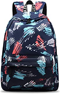 School Backpack for Teen Girls & Boys Lightweight Casual Laptop Bag Bookbag Travel Hiking Camping Daypack