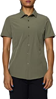 Nonwe Women's Short Sleeve Fishing Shirts Quick Dry Breathable
