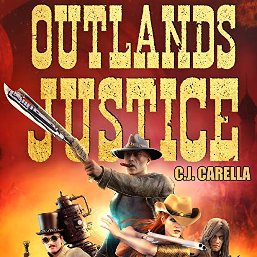 Outlands Justice audiobook cover art