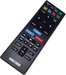Replaced Remote Control for Sony BDP-S3200 BDP-BX120 BDP-S5200D BDP-S6200E Blu-Ray Disc Player