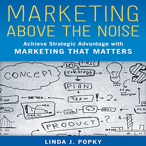 Marketing Above the Noise audiobook cover art