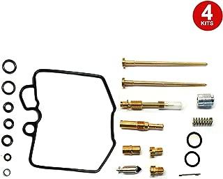 ALPHA MOTO 4 X Carburetor Carb Repair Rebuild Kits Compatible with Honda CB900C Custom CB1000C 1980-1983