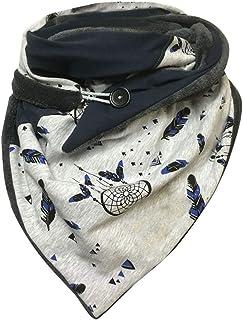 catmoew Bufandas para Moda Mujer Impresión Envoltura Suave Casual Bufandas Calientes Mantón Cálido Bufanda de Mujer Otoño ...