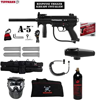 MAddog Tippmann A5 A-5 Specialist Paintball Gun Package