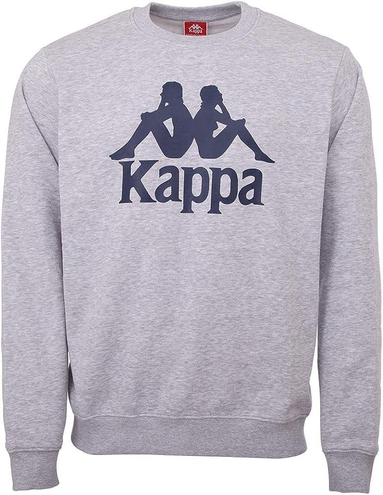 Kappa SERTUM RN Mail order cheap Men free shipping Sweatshirt 18M 703797 konfektionsgröße grey