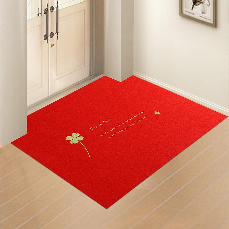 Doormats Water-Absorption Door mat Indoor mat for Bathroom Kitchen -A 100x160cm(39x63inch)