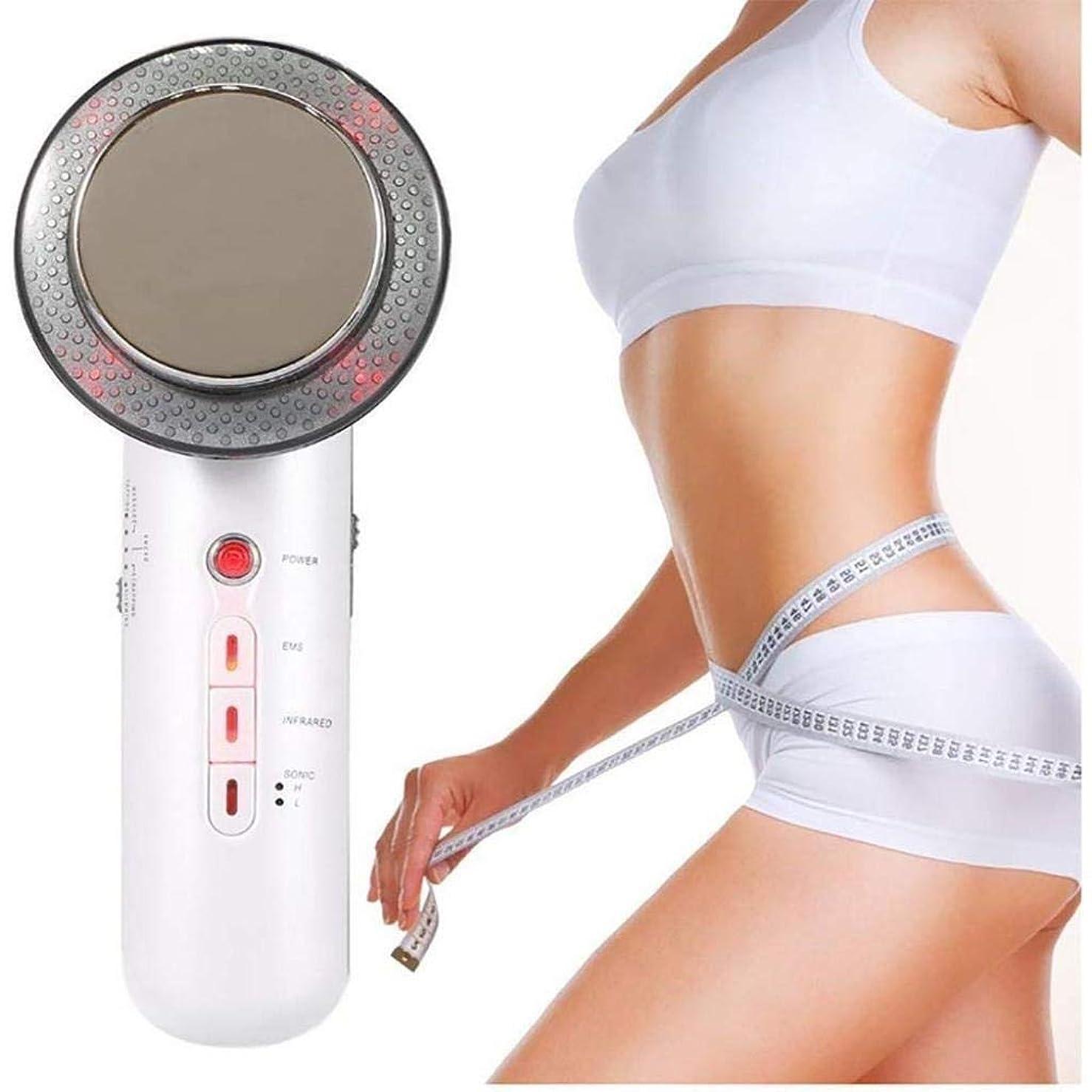 暗くする自己尊重巡礼者EMSの赤外線ライト振動と超音波セルライトの脂肪質の取り外しのマッサージャーの腹減量