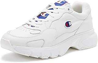 Champion CWA-1 Womens White Leather Trainers