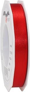 Prasent C.E, pattberg 15 mm 25 m de Cinta de Raso de Doble Cara, Rojo