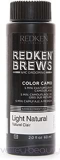 Redken For Men 5 Minute Color Camo - Light Natural 3 bottles 2oz each