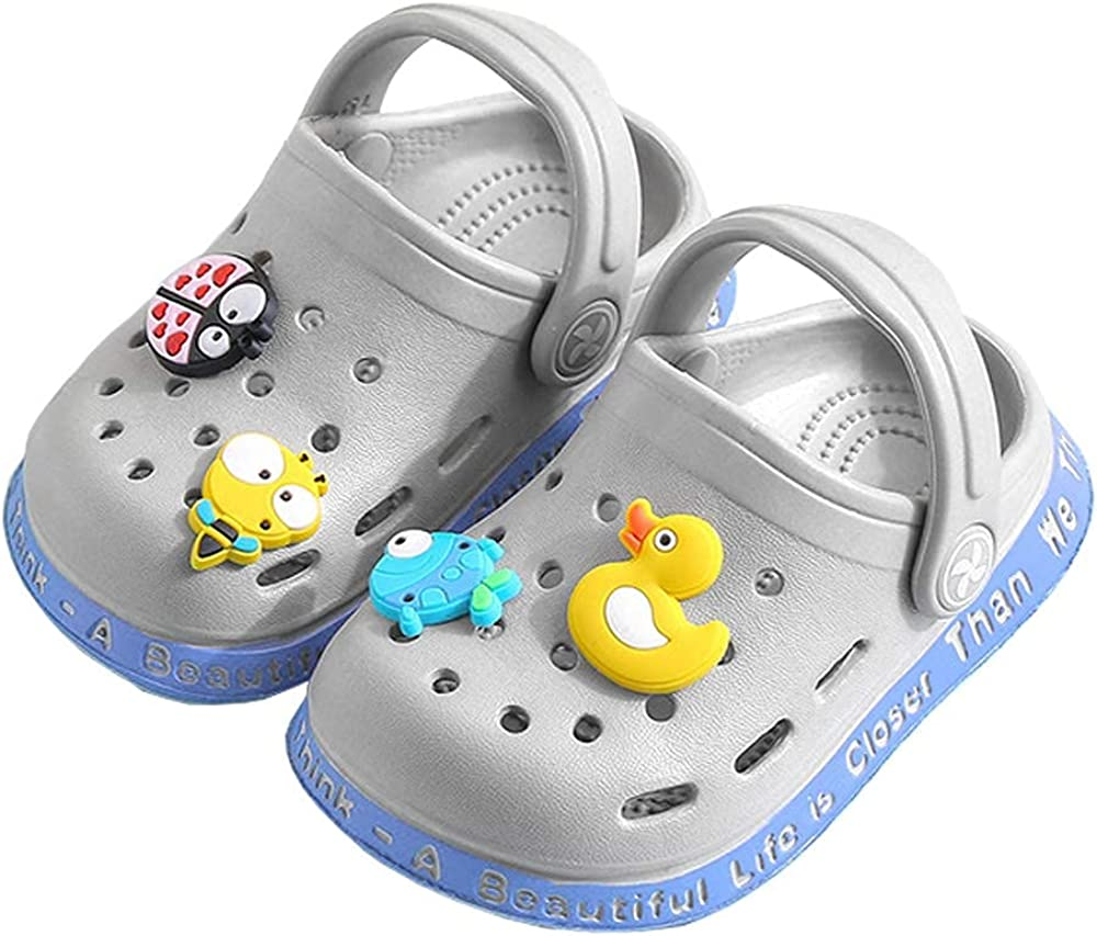 JUXI Toddler Clogs Baby Boys Girls Sandals Cute Cartoon Max 90% Ranking TOP10 OFF