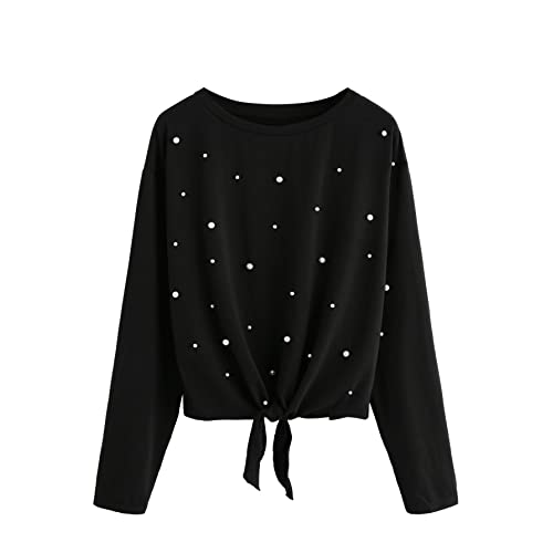f87086809be Sweater with Pearls: Amazon.com