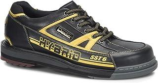 Dexter 男式 SST 6 混合保龄球鞋 右手宽 - 黑色/金色