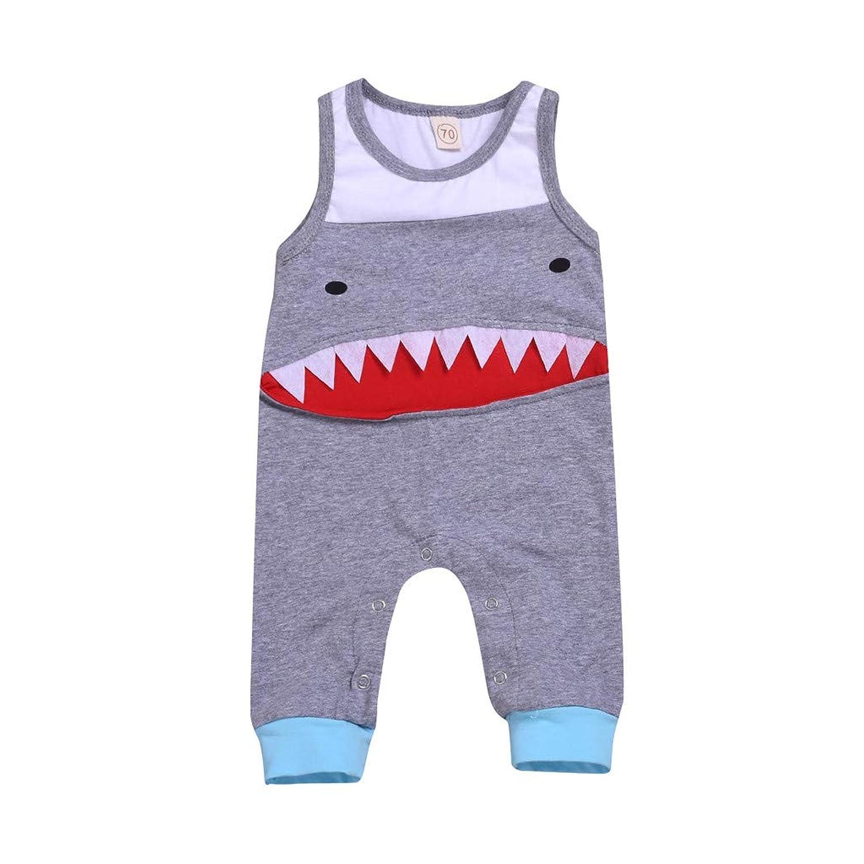 GoodLock(TM) Hot!! ?? Baby Boys 3D Shark Rompers ?? Toddler Infant Bodysuit Jumpsuit Outfits Clothes Playsuit