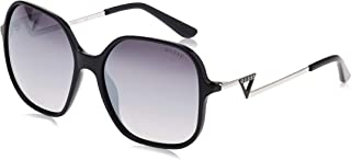 Guess Oversized Sunglasses for Women - Smoke Lens, GU7605-05C-59